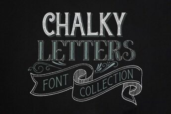 Chalkboard Fonts for Designers