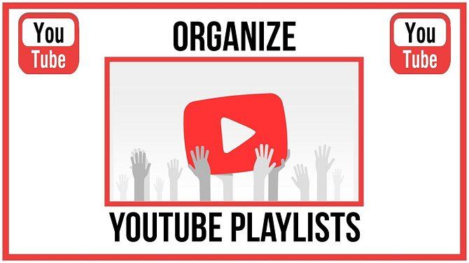 Organize playlists