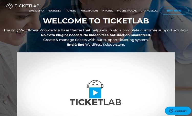 TicketLab- Theme