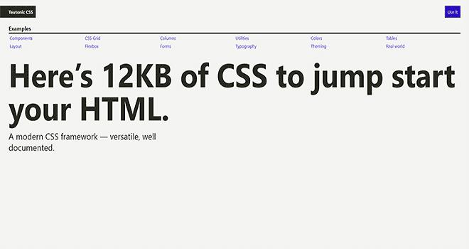 Teutonic CSS