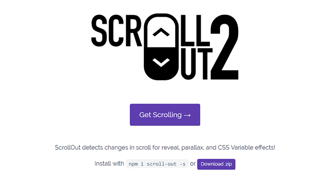 ScrollOut