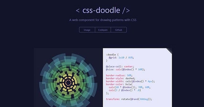 css-doodle