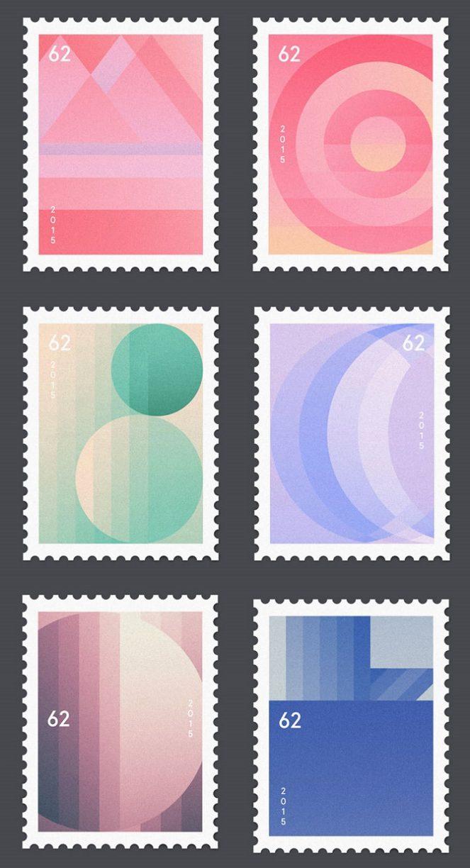 Minimalist Stamps