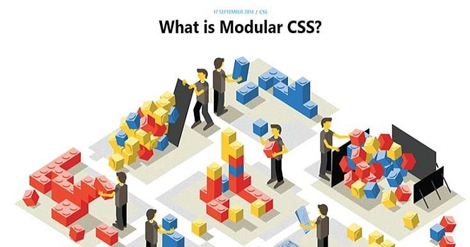 What is Modular CSS