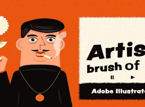 Adobe Illustrator Artistic Brushes