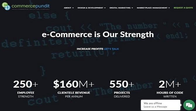 Commerce Pundit - ecommerce development companies