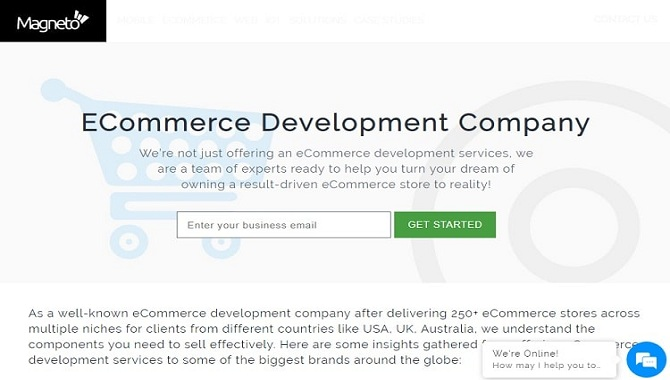 Magneto IT Solutions - best ecommerce development companies