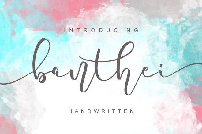 Banthei Laju Handwritten
