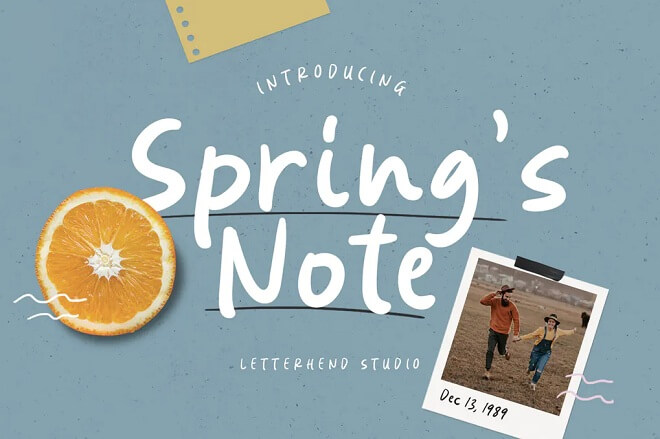Spring's Note