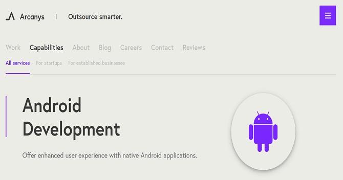 arcanys - Android App Development Companies