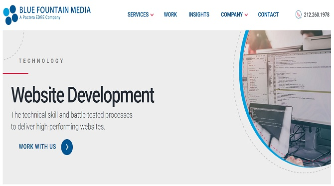 bluefountainmedia - Web Development Companies