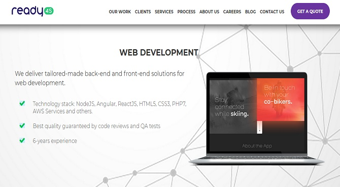 ready4s - Web Development Companies