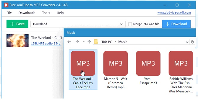 dvdvideosoft - Youtube Mp3 Converter