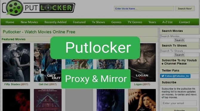 Putlocker Proxy & Mirror Sites