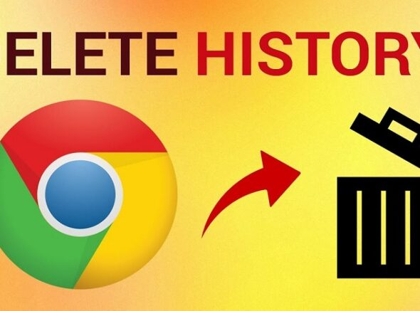 Clear Browsing History on Google Chrome
