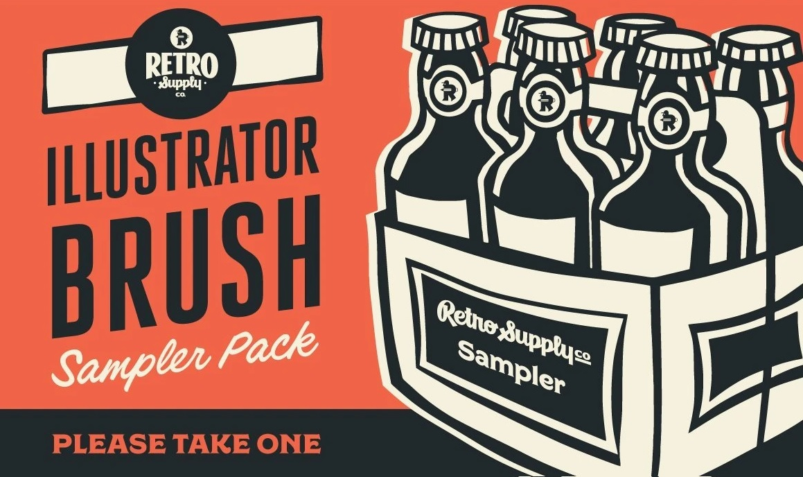 Adobe Illustrator Brush Packs